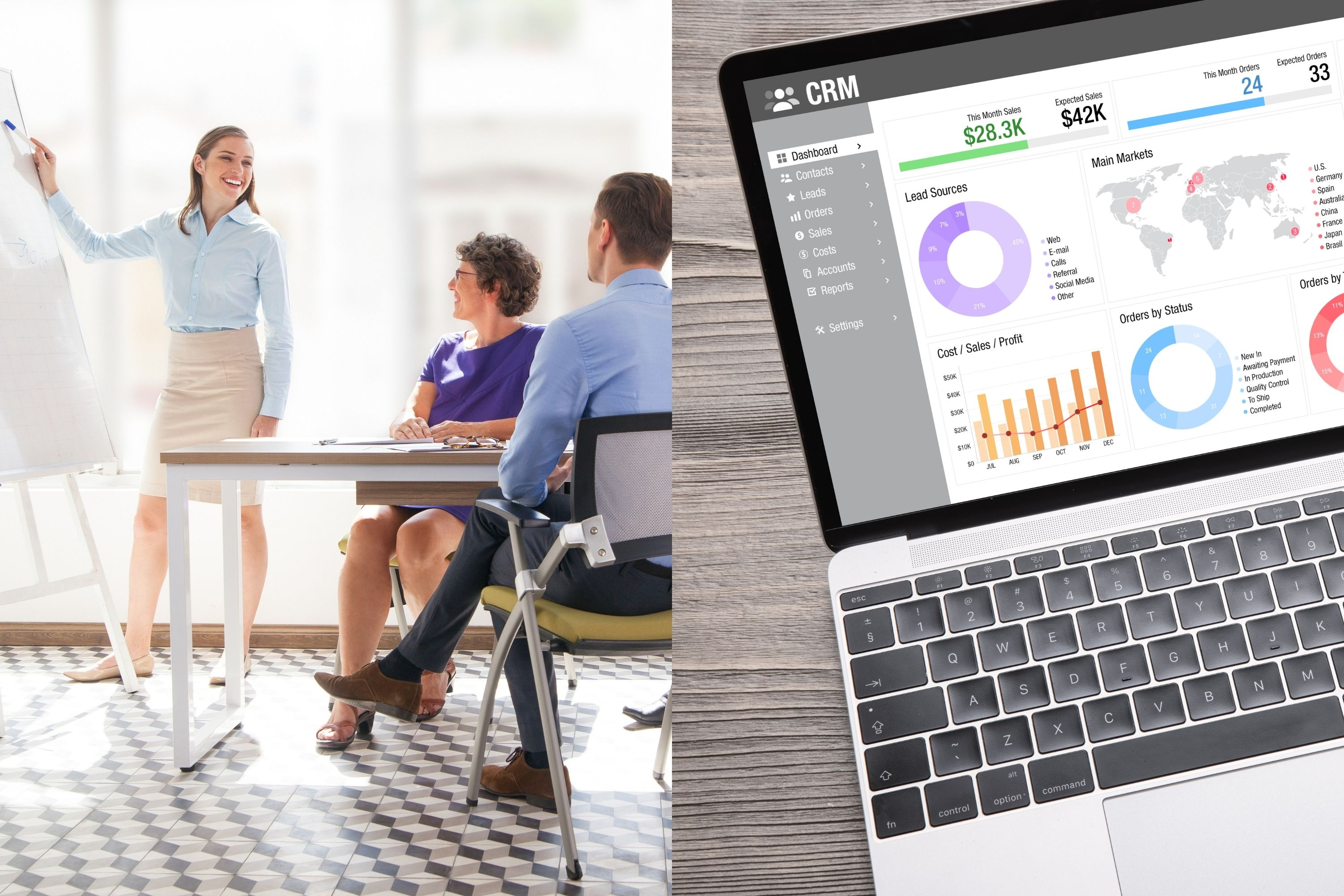 Workdom - Blog - Sales Enablement vs. CRM 3000x2000 9172021